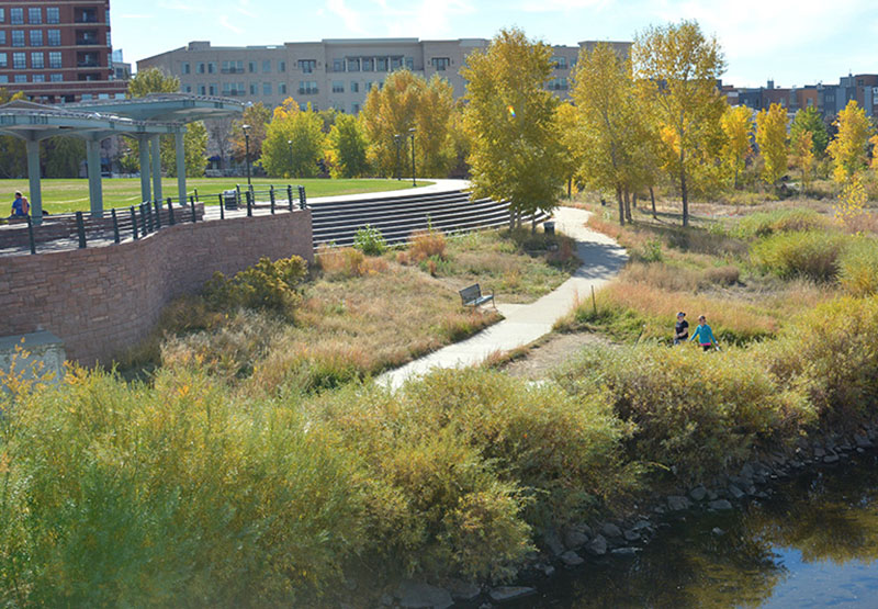 Scenic Confluence Park