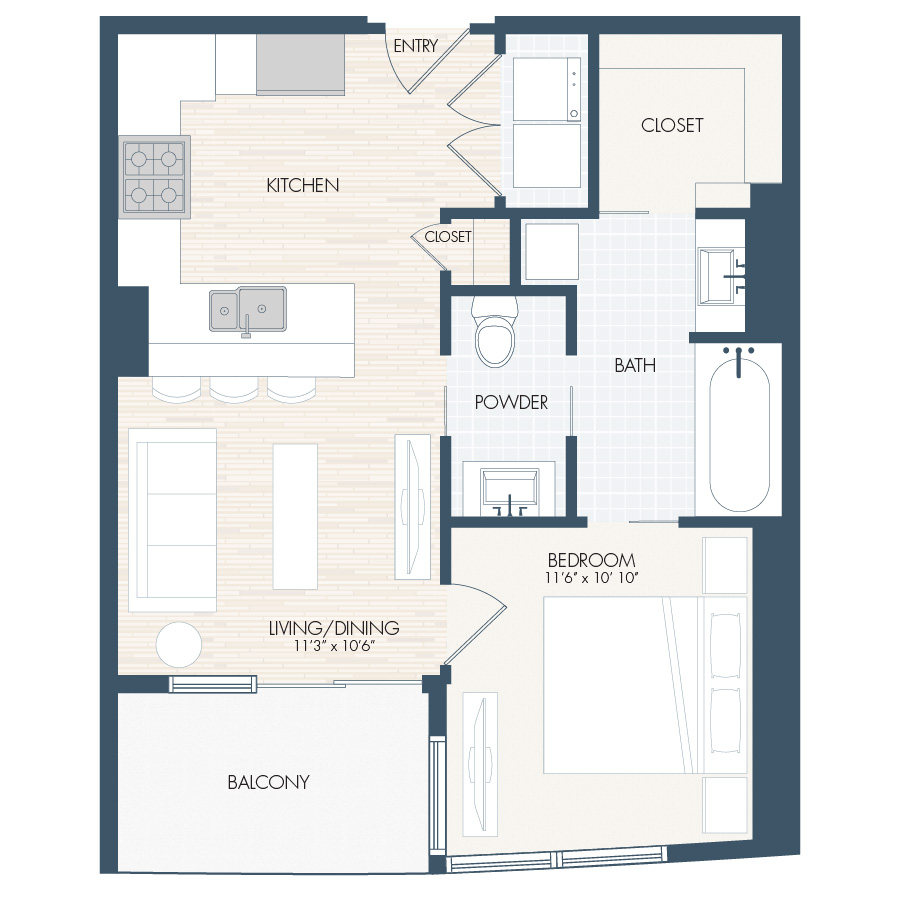 Luxury Apartment Floor Plans Denver | The Confluence Denver