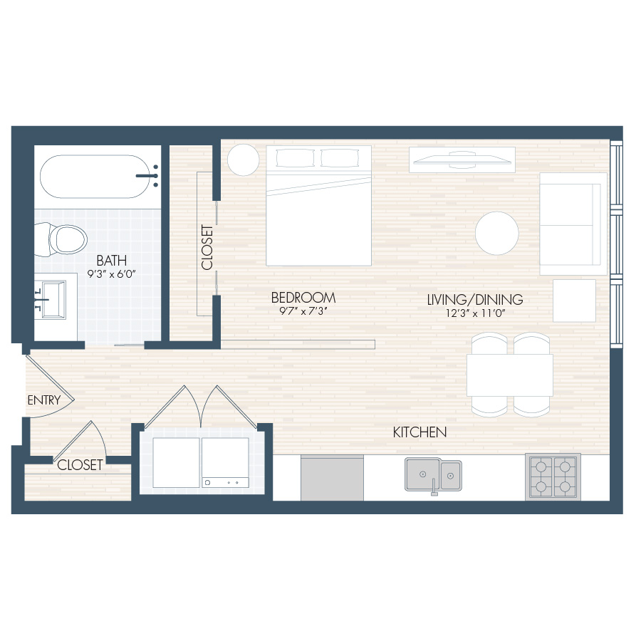 Our Luxury Apartment Floor Plans Are Simply Unsurpassed S1